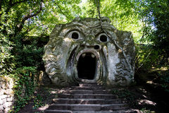 Moster в парке Bomarzo Стоковые Изображения