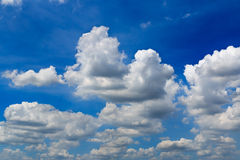 Mostly Cloudy Stock Photography