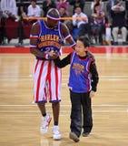 Mostra 2009 da excursão de China dos Globetrotters de Harlem Fotografia de Stock Royalty Free