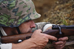 Mostra 2011 da guerra e da paz Fotos de Stock Royalty Free