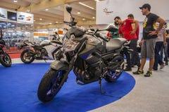 Mostra 2012 - Brasil - São Paulo da motocicleta Foto de Stock Royalty Free