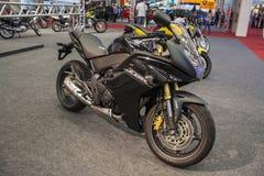 Mostra 2012 - Brasil - São Paulo da motocicleta Imagem de Stock Royalty Free