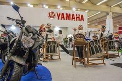 Mostra 2012 - Brasil - São Paulo da motocicleta Imagens de Stock