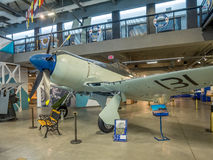 Mostra ai musei militari, Calgary Fotografia Stock