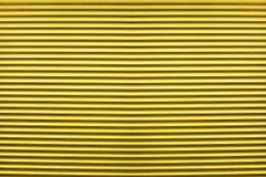 Mostra amarela abstrata das cortinas da textura Imagem de Stock