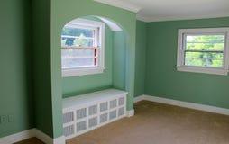 Mostra bonita da habilidade na arquitetura interior da casa imagem de stock royalty free