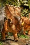 Mostra canadese dei dinosauri del museo della natura fotografia stock libera da diritti
