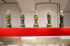 Mostra cinese in corridoio del museo dello stato di Pushkin fotografia stock libera da diritti