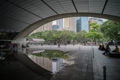 Mostra clara e de som no triângulo de Ayala Imagem de Stock
