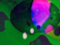 Mostra clara líquida dos Visuals psicadélicos abstratos filme