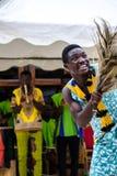 Mostra cultural de Gana fotos de stock