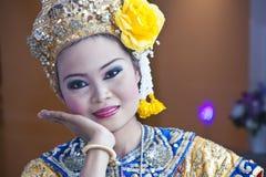 Mostra cultural tailandesa fotografia de stock
