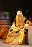 mostra da ópera de beijing Fotografia de Stock Royalty Free