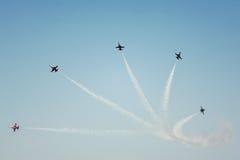 Mostra da aviação Imagens de Stock Royalty Free