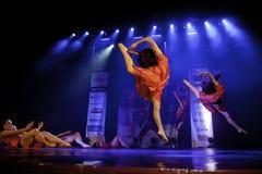 Mostra da dança de Cubana fotografia de stock