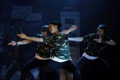 Mostra da dança de Cubana Fotos de Stock