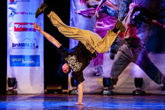 Mostra da dança de Cubana Fotos de Stock Royalty Free