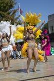 Mostra da dança popular Fotografia de Stock Royalty Free