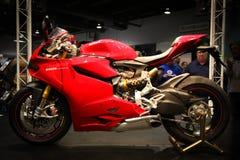 Mostra da motocicleta de Chicago - borrão de movimento Imagens de Stock Royalty Free