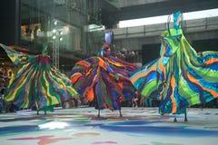 A mostra da rua das cores em Banguecoque. Imagens de Stock