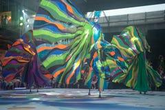 A mostra da rua das cores em Banguecoque. Fotos de Stock
