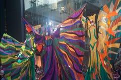 A mostra da rua das cores em Banguecoque. Imagem de Stock