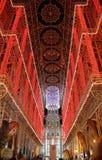 Mostra das luzes em Fallas Fotografia de Stock Royalty Free