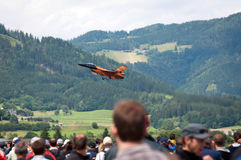 Mostra de ar do Airpower 2011 em Zeltweg, Áustria Foto de Stock