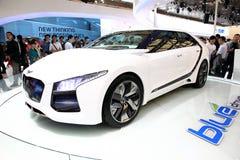 Mostra de carro, auto cimeira 2011 de Shanghai Imagem de Stock Royalty Free