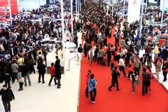 Mostra de carro, auto cimeira 2011 de Shanghai Fotos de Stock