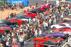 Mostra de carro clássica Imagens de Stock Royalty Free