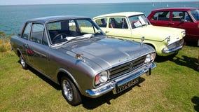 Mostra de carro clássica Fotos de Stock Royalty Free