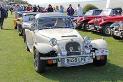 Mostra de carro do vintage Imagens de Stock Royalty Free