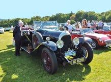 Mostra de carro do vintage Imagens de Stock