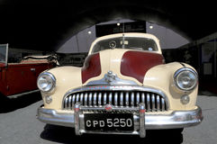 Mostra de carro do vintage Fotografia de Stock
