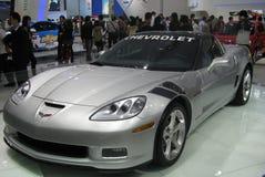 Mostra de carro dos esportes de Chevrolet Fotografia de Stock