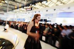 mostra de carro shanghai imagens de stock royalty free