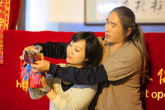Mostra de fantoche taiwanesa Imagem de Stock Royalty Free