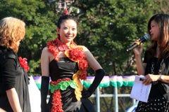 Mostra de flor 2012 de Hong Kong Fotos de Stock