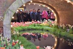 Mostra de flor 2017 de Philadelphfia Fotos de Stock