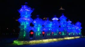 Mostra de gelo de Harbin Fotografia de Stock
