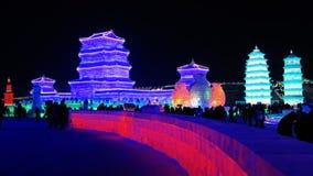 Mostra de gelo de Harbin Imagem de Stock