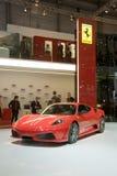 Mostra de motor 2009 de Genebra - aranha de Ferrari 16M imagem de stock