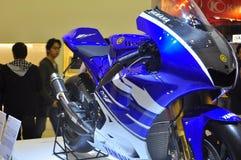 Mostra de motor de Yamaha YZR-M1 Tokyo Foto de Stock Royalty Free