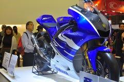Mostra de motor de Yamaha YZR-M1 Tokyo Fotos de Stock Royalty Free