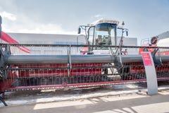 Mostra del macchinario di agricoltura in Tjumen' La Russia Fotografia Stock