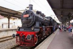 Mostra del treno a Gara de Nord Fotografia Stock Libera da Diritti