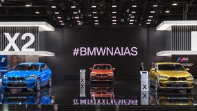 Mostra dell'automobile di BMW X2, NAIAS fotografie stock