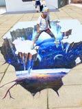mostra dell'immagine 3D Immagine Stock Libera da Diritti