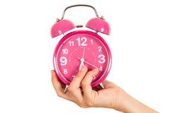Mostra dell'orologio Immagini Stock